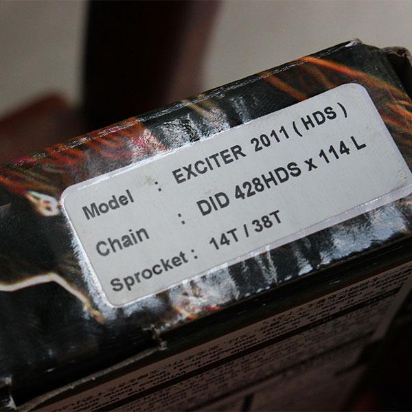 Nhông Sên Dĩa Yamaha Exciter 2011 DID HDS