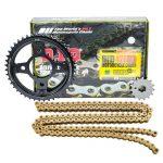 Nhông Sên Dĩa DID Winner 150 Gold Japan (Sên Vàng/Dĩa Đen)✅Chính hãng nhập khẩu Nhật Bản ✅Sên Nhông Dĩa Winner 428HDS-132RB 15Tx44T giá tốt nhất.