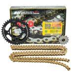 Nhông Sên Dĩa DID Vàng Yamaha Exciter 135✅ Chính hãng KingParts.vn nhập khẩu Nhật Bản ✅ Sên Nhông Dĩa EXCITER 428HDS-122RB 14Tx38 giá tốt nhất.